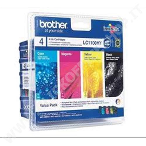 CARTUCCIA BROTHER 4PZ LC1100HY LC1100HYVALBP - ORIGINALE