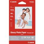 CARTA FOTOGRAFICA CANON 100 FG GLOSSY PHOTO PAPER GP-501 4X6 0775B003