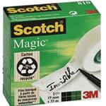 NASTRO ADESIVO SCOTCH  19X33MT MAGIC 810 INVISIBILE PERMANENTE