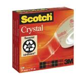 NASTRO ADESIVO SCOTCH  19X66MT CRYSTAL CLEAR 600 30604
