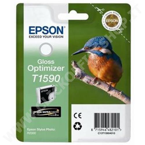 CARTUCCIA EPSON C13T15904010 MARTIN PESCATORE T1590 (17 ML) GLOSS OPTIMIZER - ORIGINALE