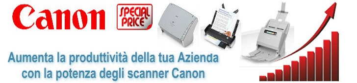 Scanner Canon - Scanner per archiviazione documentale