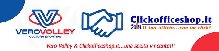 VeroVolley & Clickofficeshop.it Partner 2018-2019